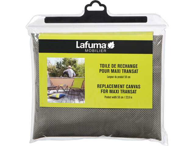 Lafuma Mobilier Toile de rechange pour Maxi-Transat 62 cm Batyline, terre